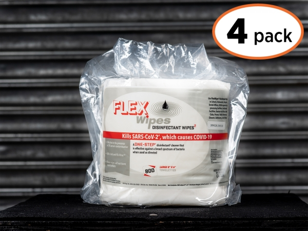 FLEXWIPES 800 Count Roll - 4 pack
