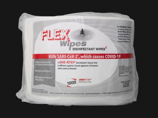 FLEXWIPES 1000 Count Roll - 2 pack